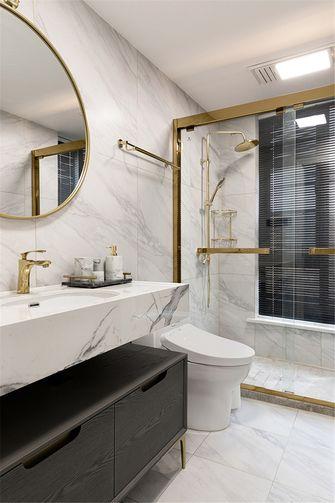 20万以上140平米三室两厅法式风格卫生间图片大全