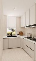 豪华型140平米三室两厅法式风格厨房图片大全