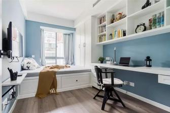 富裕型100平米三室两厅美式风格书房装修效果图