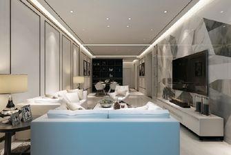 3-5万110平米三现代简约风格客厅图