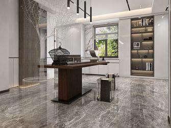 富裕型130平米三室两厅日式风格书房图片大全