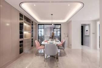 富裕型140平米四室三厅轻奢风格餐厅图片