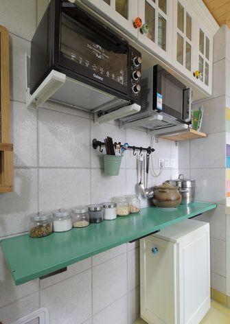 10-15万80平米田园风格厨房图片大全