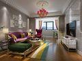 80平米三欧式风格客厅装修效果图