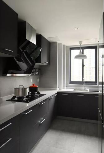 90平米三室两厅工业风风格厨房图片