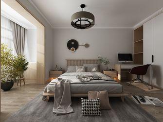 130平米日式风格卧室图
