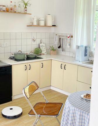 经济型90平米三室两厅现代简约风格厨房欣赏图
