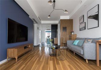 豪华型130平米四室两厅北欧风格客厅图