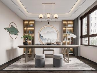 豪华型140平米三室一厅中式风格书房装修效果图