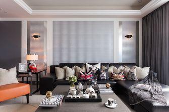 富裕型110平米三欧式风格客厅装修案例