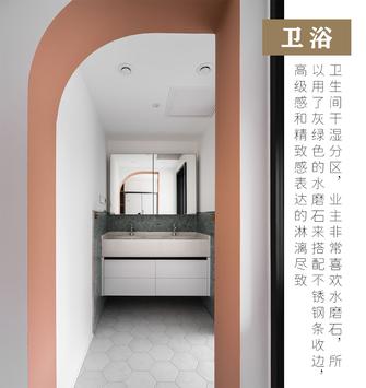 10-15万60平米公寓北欧风格卫生间设计图