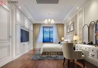 豪华型140平米别墅田园风格卧室图片大全