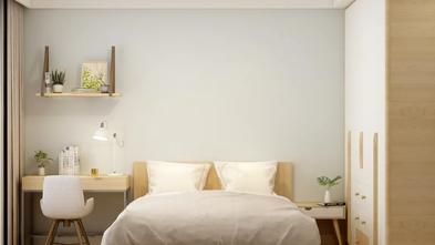 90平米公寓日式风格卧室设计图