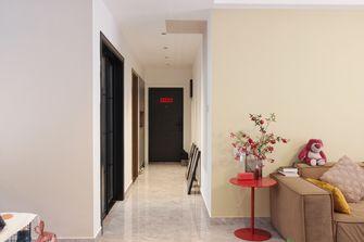 富裕型120平米三室两厅现代简约风格玄关效果图
