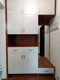 富裕型110平米三室两厅中式风格玄关图