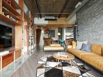 120平米三室两厅工业风风格客厅欣赏图