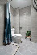 富裕型70平米一室一厅北欧风格卫生间图片