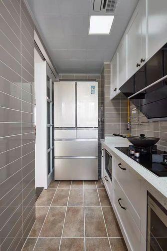 经济型100平米三室一厅美式风格厨房装修效果图