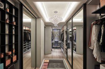 富裕型110平米三室两厅现代简约风格衣帽间装修图片大全
