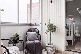 富裕型北欧风格阳光房设计图