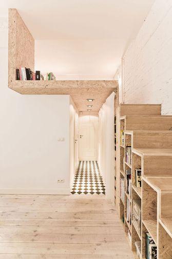 富裕型60平米一室两厅北欧风格楼梯间装修案例