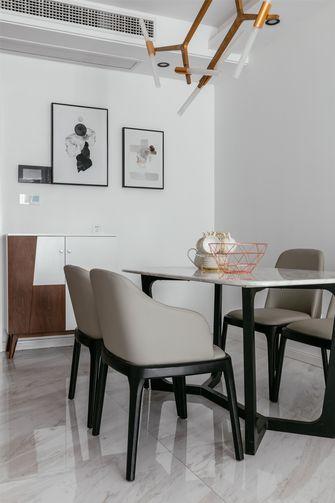 80平米一室一厅现代简约风格餐厅效果图