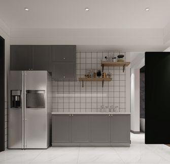 80平米一居室轻奢风格厨房欣赏图
