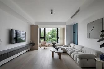 5-10万90平米三现代简约风格客厅设计图