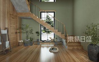豪华型140平米别墅田园风格楼梯间装修效果图