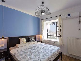 富裕型60平米混搭风格卧室图片