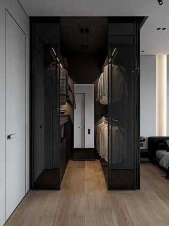 豪华型120平米三室两厅现代简约风格衣帽间效果图