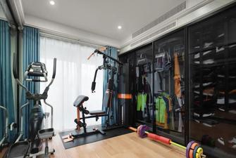 100平米公寓北欧风格健身房图片
