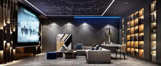 140平米别墅轻奢风格影音室设计图