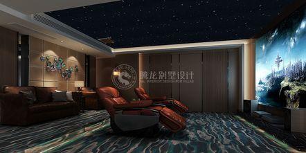 140平米别墅轻奢风格影音室效果图