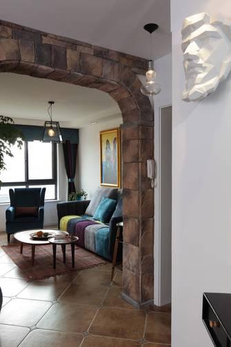 140平米别墅田园风格客厅效果图