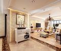 豪华型130平米三欧式风格客厅图