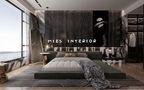 140平米四室三厅现代简约风格卧室欣赏图