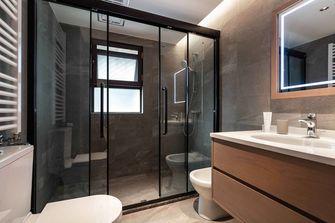 5-10万100平米三室一厅混搭风格卫生间装修图片大全