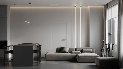 豪华型120平米四室两厅现代简约风格客厅图片大全