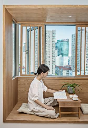30平米超小户型现代简约风格书房欣赏图