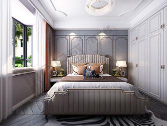 三室两厅美式风格卧室装修图片大全