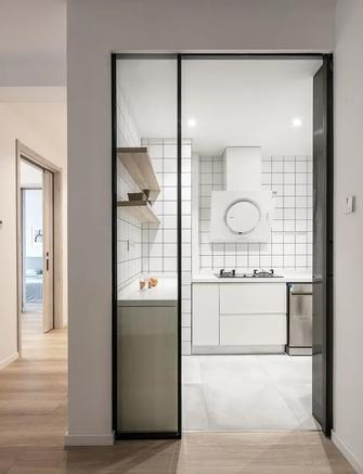 10-15万80平米三北欧风格厨房设计图