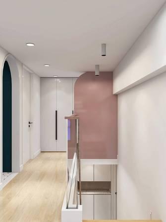 80平米三室两厅现代简约风格走廊图片大全