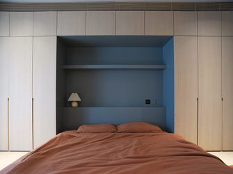 豪华型110平米北欧风格卧室装修效果图