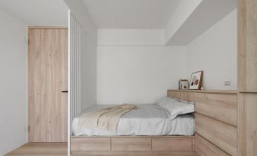15-20万90平米三室两厅北欧风格卧室欣赏图