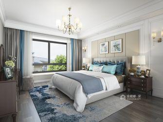20万以上130平米三美式风格卧室装修效果图