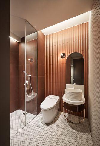 豪华型120平米四室两厅工业风风格卫生间设计图