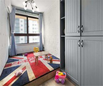 富裕型70平米三室一厅现代简约风格青少年房图片大全