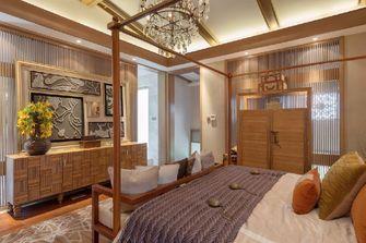 140平米别墅东南亚风格卧室图片大全
