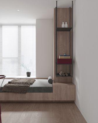富裕型110平米三室三厅日式风格卧室图片大全